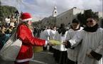 ألوف الزوار في بيت لحم لحضور قداس عيد الميلاد