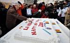 رومانيا تصنع اكبر قالب حلوى في العالم ويزن 281 كلغ