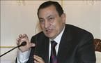 قال أم لم يقل...؟مصر تنفي قول مبارك للاوربيين : لا ينبغي ان تكسب حماس الحرب
