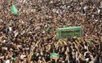الزوار الشيعة يحيون ذكرى وفاة الامام موسى الكاظم في شمال بغداد