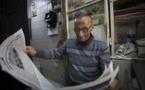 """""""ابو نوح """"... 50 عاماً من """"معانقة"""" الصحف في شوارع القدس"""