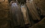 العثور على 17 مومياء جديدة في جبل التونه بمصر