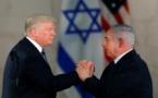 ترامب يتعهد بدعم إسرائيل ووضع حد للتهديدات الإيرانية