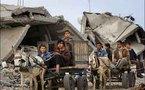نظافة بما تيسر ...غزة تعود الى عصر الحمير لجمع قمامتها وتعاين الحمار قبل أن تعين صاحبه