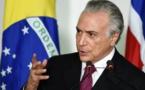 اتهام الرئيس البرازيلي ميشيل تامر رسميا بالفساد