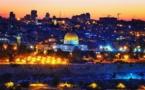 """صوت المؤذن """"القادم من السماء"""" يصدح في شوارع القدس"""
