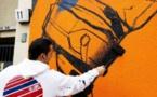 برلين تستضيف أول معرض في العالم لفن الرسم على الجدران