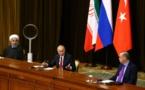 بوتين يعلن تأييد بلاده وتركيا وإيران لعقد مؤتمر جديد بشأن سورية
