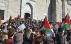 """تظاهرات ضد قرار ترامب واردوغان يصف اسرائيل ب"""" الارهابية"""""""