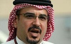 ولي عهد البحرين:علاقاتنا جيدة بإيران واستضافتنا للأسطول الأمريكي لا علاقة له بالسياسية