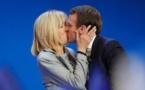 كتاب عن بريجيت ماكرون يكشف عن كتابة الرئيس الفرنسي لرواية اباحية