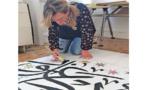 """أنتونيلا ليونى تعرض بالقاهرة """" الإبرو ..فن أنماط الصخور"""""""