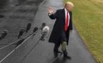 ظروف الطقس السيئة تربك جدول أعمال ترامب