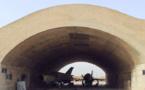 هجوم صاروخي على مطار الضبعة وقصف جوي بالبادية السورية