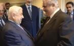 وزير خارجية البحرين مع وليد المعلم