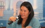 زعيمة المعارضة البيروفية كيكو فوجيموري