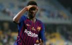 ديمبلي ينقذ برشلونة من الخسارة أمام أتلتيكو مدريد في الدوري
