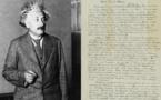 """أحجار من القمر و""""انجيل أينشتاين، للبيع في مزاد بنيويورك"""