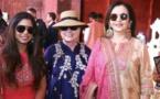 نجوم بوليوود وهيلاري كلينتون في زفاف ابنة ثري هندي
