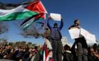 إرتفاع الإصابات بين قوات الأمن الأردنية خلال احتجاجات عمان