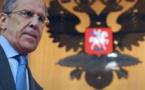 لافروف: عمل لجنة الدستور السوري يجب أن يستند للحل التوافقي