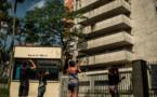 ازالة رمز بابلو اسكوبار أخطر مهرب مخدرات في كولومبيا