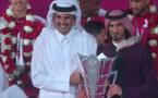 المنتخب القطري يصل الدوحة و امير قطر في مقدمة مستقبليه