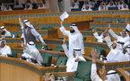 استجواب الشيخ ناصر محمد الصباح  في جلسة مغلقة للبرلمان الكويتي