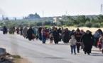 أكثر من 7.5 آلاف عائلة في موجة نزوح جديدة شمال سورية