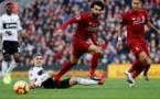 ليفربول يهزم فولهام بثنائية في الدوري الإنجليزي الممتاز