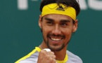 فونيني يتوج بلقب بطولة مونت كارلو لأساتذة التنس