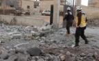 مقتل 8 بينهم متطوع بالدفاع المدني في قصف جوي على ادلب