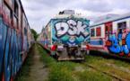 إزالة رسومات الجرافيتي في القطارات تكلف ملايين الدولارات