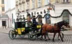 العربات التي تجرها الخيول تقاوم الحداثة في النمسا