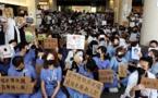 متظاهرو هونج كونج يدعون أمريكا وبريطانيا لدعم قضيتهم