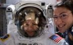 أول مهمة نسائية خالصة خارج مركبة فضائية