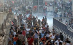 اغلاق الجسور والمظاهرات متواصلة في بغداد و9 محافظات