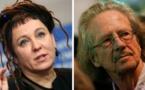 """المؤلفان الحائزان على نوبل هاندكه وتوكارتشوك يلقيان """"محاضرة الجائزة"""""""