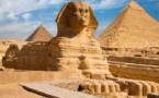العثور على تمثال ملكي على هيئة أبو الهول في صعيد مصر