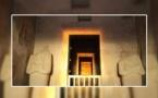 الشمس تبدد الظلمة داخل معبد حتشبسوت فى عيد ربة السعادة