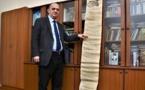 العثور على وثيقة أرشيفية تحمل ختم سليمان القانوني