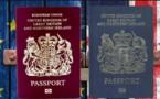 جوازات السفر الزرقاء تعود إلى مواطني بريطانيا في مارس
