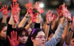"""المكسيكيات يشاركن بإضراب """"يوم بدوننا"""" احتجاجا على قتل الإناث"""