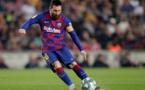 ميسي يعلن موافقة نجوم برشلونة على تخفيض أجورهم