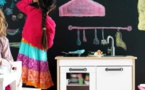 العزل المنزلي فرصة لتعليم الأطفال قواعد النظافة خاصة بالمطبخ