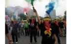 العمال في تايوان يتظاهرون للمطالبة بظروف أفضل واكثر أمانا