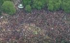 لندن تنظم مسيرة احتجاجا على وفاة الأمريكي جورج فلويد