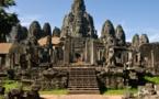 معابد أنجكور الشهيرة بكمبوديا بلا سياح بسبب الجائحة