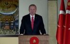 """أردوغان:""""آيا صوفيا"""" سيفتح للمواطنين والأجانب وغير المسلمين"""