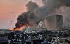 عشرات القتلى والوف الجرحى  نتيجة انفجار مرفأ بيروت